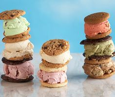 Coolhaus Ice Cream Cookie Sandwishes - Get combinations like honeycomb ice cream, made with Free Range LA honey, and olive oil rosemary pine nut cookies at this sleek brick-and-mortar shop in Culver City or from trucks in L.A., New York, Austin, TX, and Dallas.
