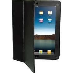 VIBE Portfolio Case Stand for iPad 2 iPad New iPad Black (VE2027BK) FREE SHIP #Vibe