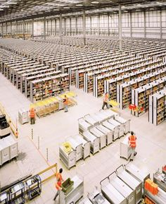"""Amazon Unpacked ~ Thousands of new warehouse jobs were supposed to help lift a struggling British economy. Instead, employees started equating the work with """"being in a slave camp."""""""