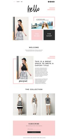 Hi Gorgeous! If you're looking for a modern and stylish website template that is super EASY to edit and manage, this listing is for you! This website template is built for the user friendly WIX platform. No coding or tech savvy is needed. Just drag, drop and go! - - - - - - - - - - - - - - - - - - - - - - - - - - - - - - - - - - - -  LIVE DEMO:  http://shoptrendyprint.wixsite.com/hellotemplate - - - - - - - - - - - - - - - - - - - - - - - - - - - - - - - - - - - -  INCLUDED:  ...