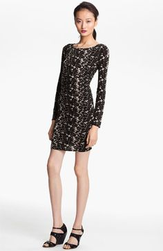 Tracy Reese Ruched Batik Print Jersey Dress available at #Nordstrom