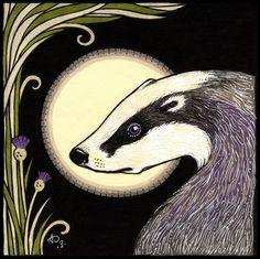 Moon Badger (Ltd Ed of 25)