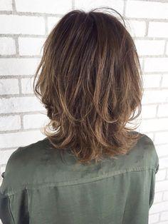 67 Ideas For Haircut Carre Long Album Medium Hair Cuts, Long Hair Cuts, Medium Hair Styles, Short Hair Styles, Hair Dyed Underneath, Short Shag Hairstyles, Asian Hair, Fade Haircut, Love Hair