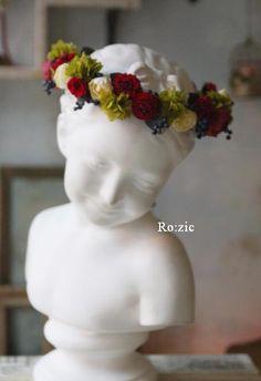 preserved flower http://rozicdiary.exblog.jp/24074357/