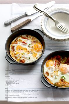 Shakshauka Eggs in my latest …..  Home Cookin' !!! (Great Homes, Great Food!!!)  Breakfast in a Bulgarian Bachelor Pad, Sofia, Bulgaria