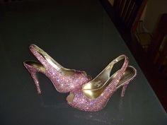 DIY crystal shoes?! OMGee!!!!