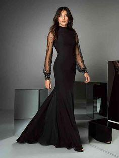 Vestidos Preto Princesa Gala Convidada De Casamento   Same