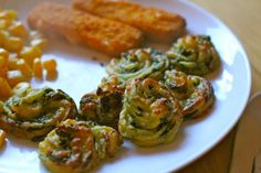 """Find it hard to get greens into your toddler's diet?  Try these spinach and potato bites.  My son has just looked at this picture again and said """"I liked that!"""""""