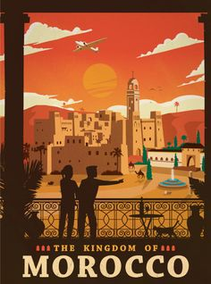 Vintage posters, Morocco