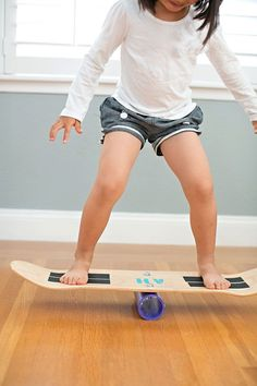 hello, Wonderful - HOW TO MAKE A SKATE BALANCE BOARD