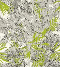 Eden Roc Green wallpaper by Christian Lacroix