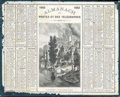 Almanach des Postes 1882