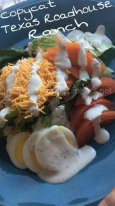 copycat ranch dressing. Tastes like restaurant style!  WWW.MIDWESTCOUPONCLIPPERS.NET