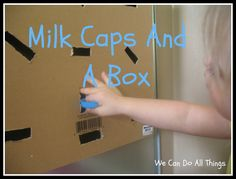 we can do all things: Milk Caps And A Box