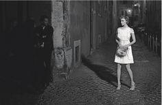 Karl Lagerfeld4 Fendi Arizona Muse black and white photography