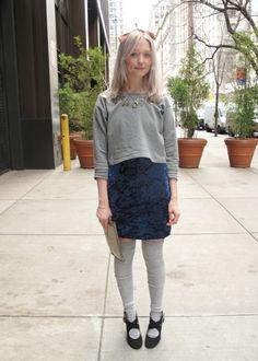 grey and blue velvet