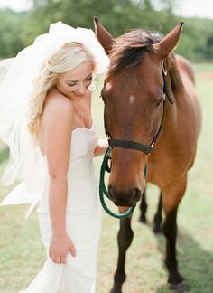 sweet horse portrait   Amanda Watson #wedding