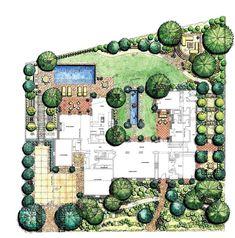 landscape architecture plan - Tìm với Google