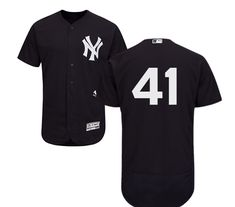 644f85a2379 Men s Majestic New York Yankees  41 Adam Lind Navy Blue Alternate Flex Base  Authentic Collection MLB Jersey