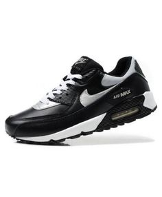 b1ed1738365 Nike Air Max 90 premium leather upper for comfort and durability