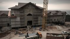 An Unfinished Ukraine Palace and a Fugitive Leader's Folly