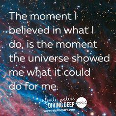 Infinite Waters (Diving Deep)