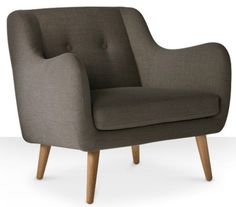 Scandinavian-style Jaxson armchair by Swoon Editions