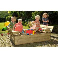 Zandbakken voor Kinderen   WoodVision Zandbak - Kinderzandbak Tom – JouwSpeeltuin Outdoor Furniture Sets, Outdoor Decor, Toy Chest, Toms