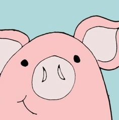 somebody's in their Monday grumptastic mood today! This Little Piggy, Little Pigs, Animals And Pets, Cute Animals, Sweet Drawings, Piggly Wiggly, Pig Art, Cute Piggies, Dibujos Cute