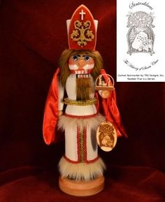 Ginger Cottages Sinter Klaus Nutcracker Santa Series 5 NUTS105 >>> Click image to review more details.