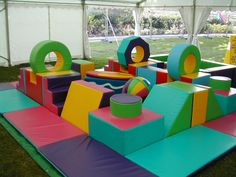 soft block play want so bad Kids Play Spaces, Kids Play Area, Soft Play Area, Soft Play Equipment, Creative Kids Rooms, Indoor Play Areas, Kids Gym, Block Play, Play Gym