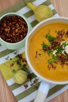 Hokaido pumpkin soup.