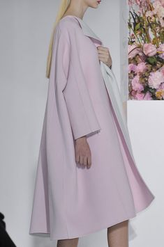 Jil Sander Fall 2012 - Details my mother sewed me one of these...it used to be called a 'duster'.