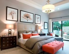 The master bedroom is one of the most important rooms in the house. These top 10 master bedroom design ideas incorporate a beautiful design. Purple Master Bedroom, Master Room, Master Bedroom Design, Dream Bedroom, Home Bedroom, Bedroom Ideas, Bedroom Designs, Bedroom Small, Modern Bedroom
