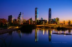 Parque Bicentenario, Vitacura Santiago de Chile   Flickr - Photo Sharing!