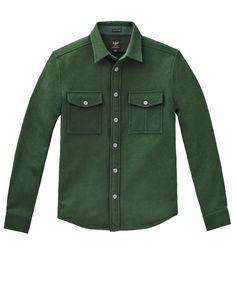 Lee 2 POCKET WORK SHIRT Overhemdblouse olive green
