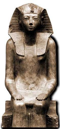 Hatshepsut - Daughter of Tuthmosis I, and one of the greatest pharaohs in all of Egyptian history.