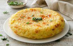 Preparazione Frittata di riso - Fase 4 Cheese Recipes, Rice Recipes, Seafood Recipes, Snack Recipes, Antipasto, Veggie Dinner, Chicken Wing Recipes, Brunch, Original Recipe