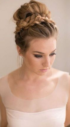 How To Wedding Updos For Medium Length Hair