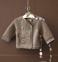 modele tricot jacquard bebe gratuit