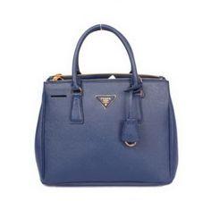 2c688c1f9451 £134.00 Outle Prada Saffiano Calf Leather Tote Bag Pr2274 Royalblue Outlet  Stores