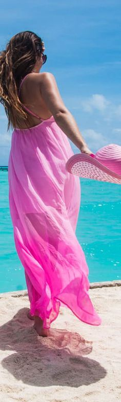 Summer Colors and themes Pink Beach, Pink Summer, Summer Colors, Summer Beach, Summer Time, Summer Ideas, Summer Paradise, Tropical Paradise, Beach Please