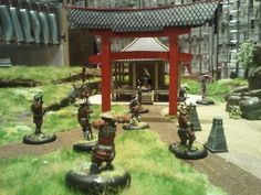Hamburger Tactica Tag 1 | GCT Studios Samurai, Fire, Japanese, Models, Studio, Board, Inspiration, Templates, Biblical Inspiration
