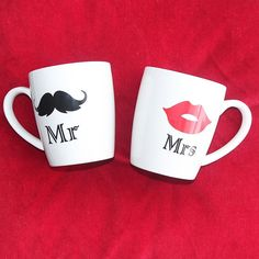 """GIVEAWAY TIME! Are you engaged to be married or know of someone who is? Enter to win these cute Mr. & Mrs. mugs! Here's how to enter: 1. Follow @frillsandfinery (C'est moi!) 2. Tag a friend who you think would also like to win! Every tag counts as an entry so you can tag more than one person. 3. A bonus entry will be given on Facebook. """"Like"""" us over there (@frillsandfinery) for an additional chance to win! This giveaway will end on February 20th at 11:59 PM CST. Winner will be chosen at…"""