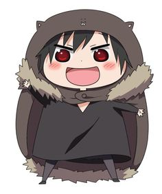 Crossover: Himouto Umaru-chan and Durarara!!x2 Izaya hhahahahahha, he is so cute