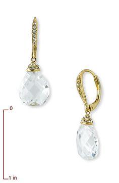 Nadri Boxed Faceted Crystal Drop Earrings | Nordstrom