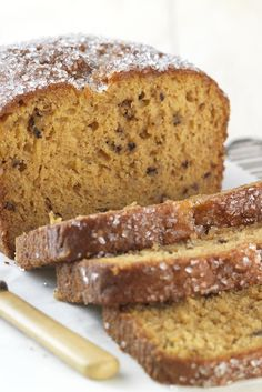 Easy Gluten-Free Pumpkin Bread made with baking mix Recipe
