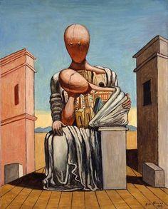 Giorgio de Chirico, Antigone consolatrice, 1973 Les carnets d'Eimelle littérature théâtre voyage: Antigone théâtre et peinture 1