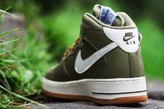 NIKE AIR FORCE 1 MID (MEDIUM OLIVE)   Sneaker Freaker