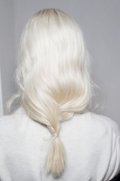 white blonde. Love this color? Try Cashmere Hair Clip In Extensions in LIGHTEST BLONDE Shade!! CASHMERE HAIR EXTENSIONS... Get this look with Cashmere Hair Extensions! The BEST Clip-In Hair Extensions on the market! Luxury from Beverly Hills. As seen on Shark Tank. copy and paste this link: http://www.cashmerehairextensions.com